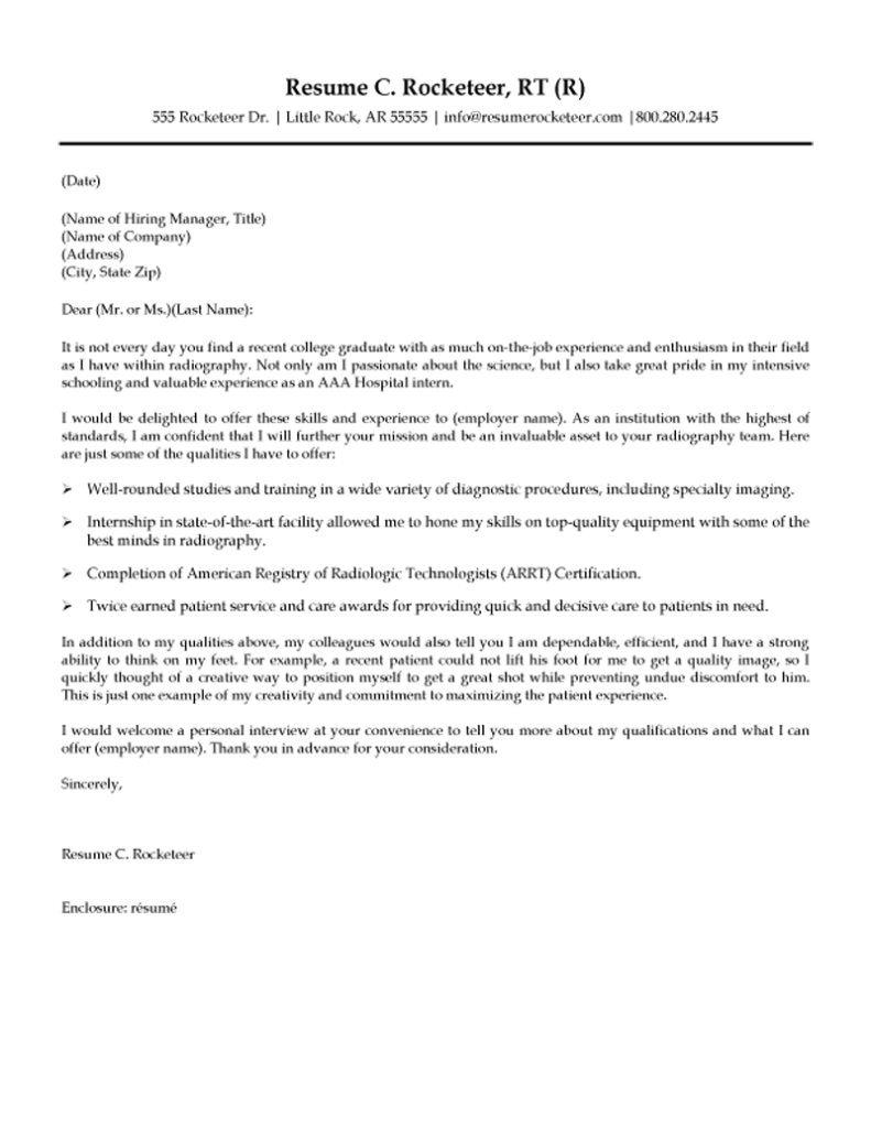 Motivation Letter for Job Template