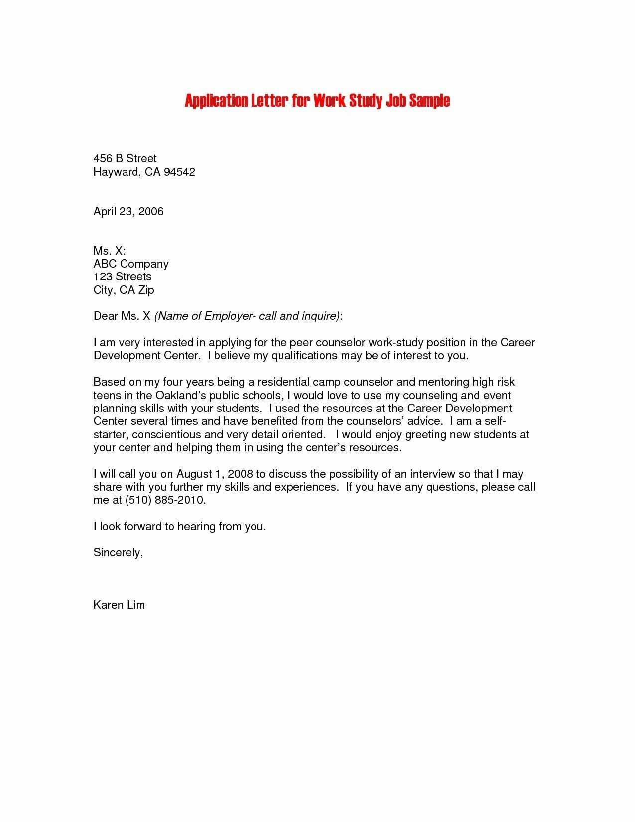 Job Motivation Letter PDF